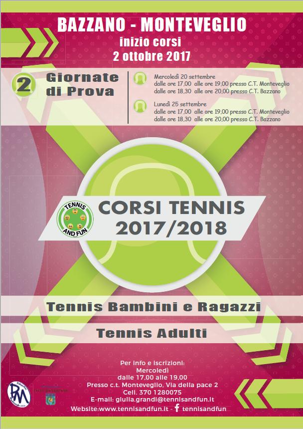 lezioni di tennis
