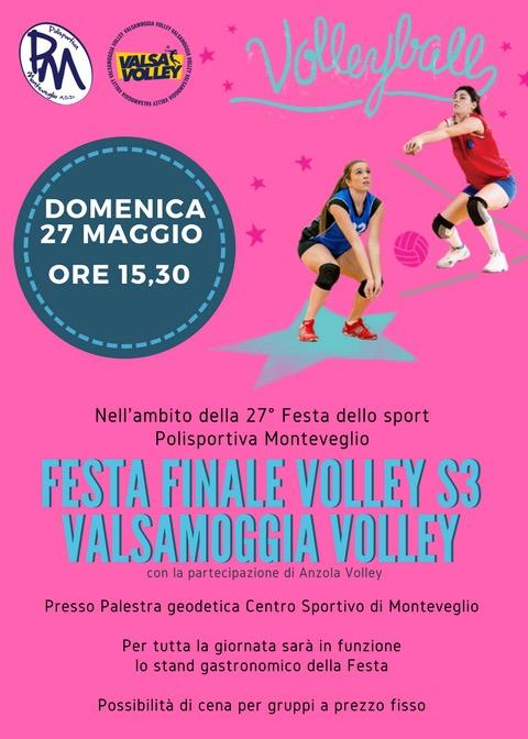 festa finale volley