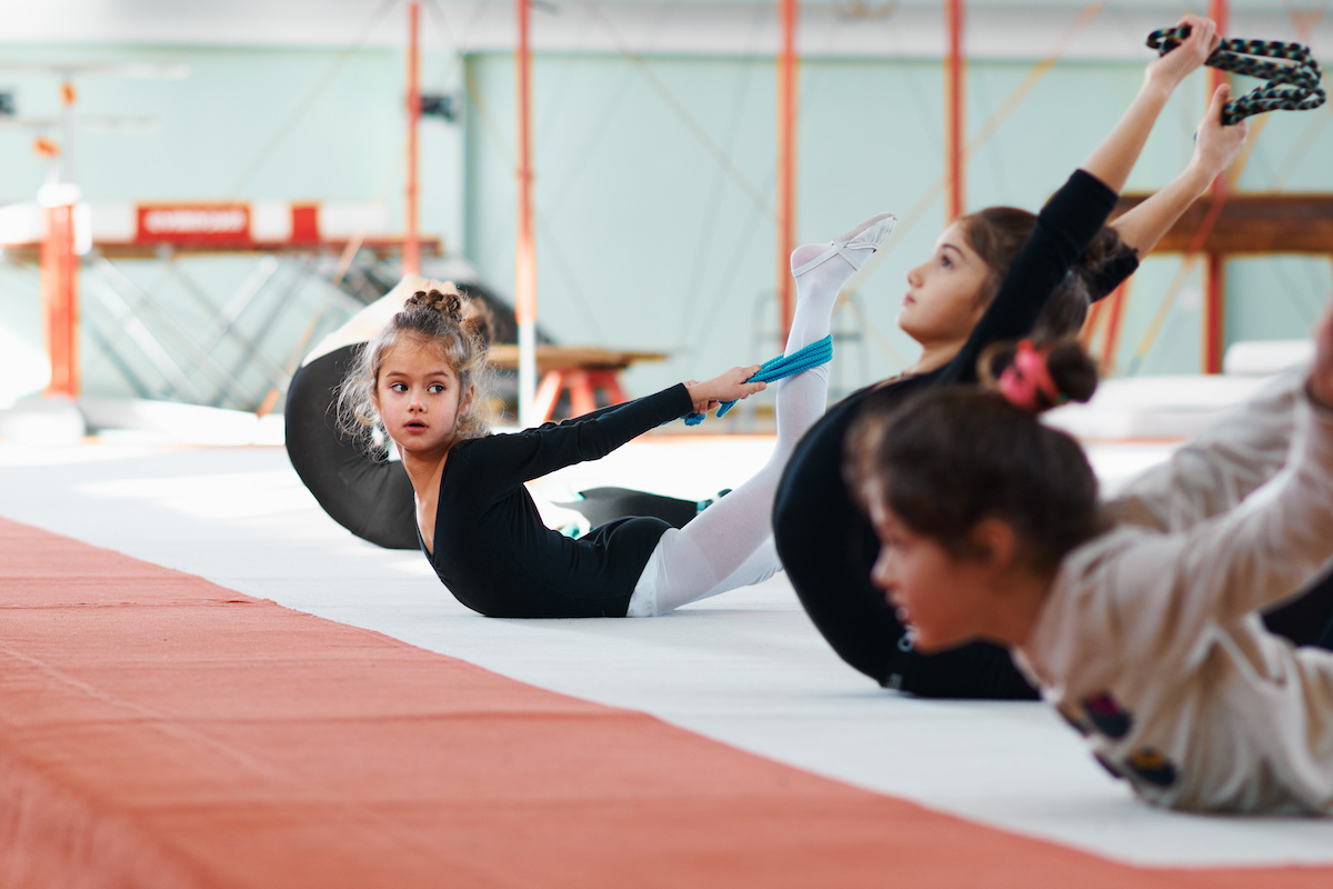 repeats of another exercise gymnastics