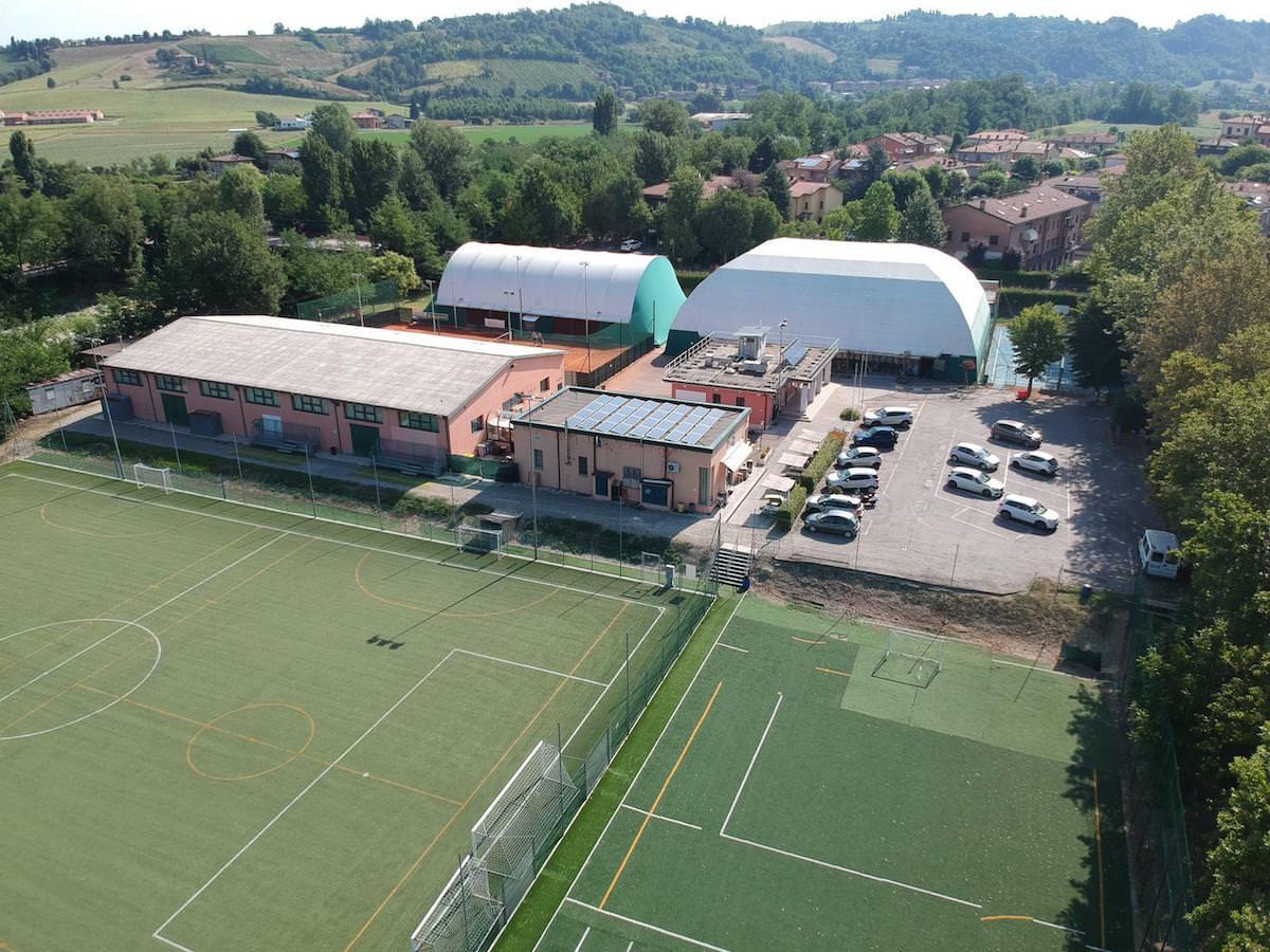 drone centro sportivo